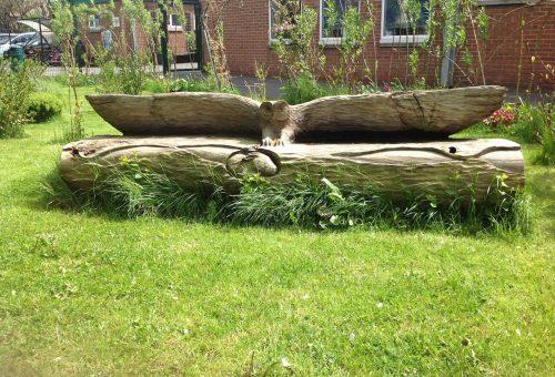 owl bench 2